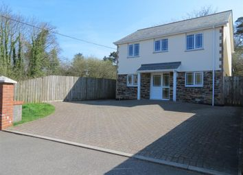 Thumbnail 4 bed detached house for sale in Treverbyn Road, Stenalees, St Austell