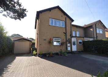 Thumbnail 3 bed semi-detached house for sale in Field Hey Lane, Willaston, Neston