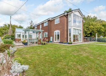 Thumbnail 4 bedroom detached house for sale in Llanfynydd, Wrexham