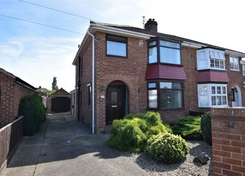 Thumbnail 3 bed semi-detached house for sale in Hadnall Close, Acklam, Middlesbrough