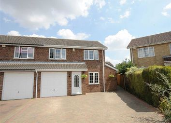 Thumbnail 3 bed semi-detached house for sale in Naseby Close, Wellingborough