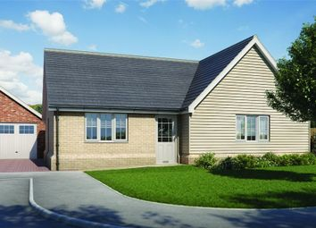 Thumbnail 3 bed detached bungalow for sale in Plot 5 'old Stables', Walton Road, Kirby-Le-Soken, Frinton-On-Sea, Essex