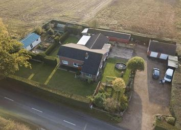 Thumbnail 4 bedroom bungalow for sale in Tattershall Road, Kirkstead, Woodhall Spa