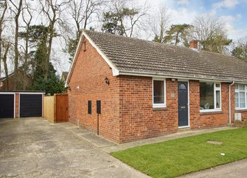 Thumbnail 2 bed bungalow for sale in Miller Close, Elmswell, Bury St. Edmunds