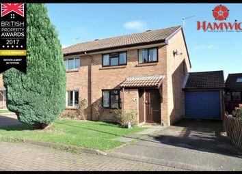 Thumbnail 3 bed semi-detached house for sale in Shetland Close, Southampton