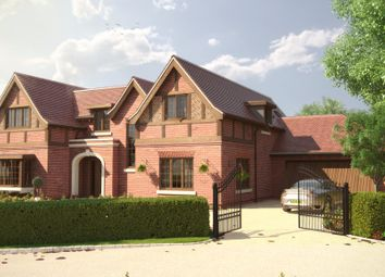 Thumbnail 5 bed detached house for sale in Green Lane, Littlewick Green, Maidenhead
