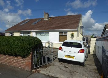 Thumbnail 2 bed semi-detached bungalow for sale in Tennyson Drive, Cefn Glas, Bridgend.