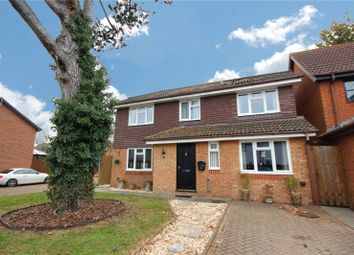 Thumbnail 4 bed detached house for sale in Pear Tree Road, Addlestone, Surrey