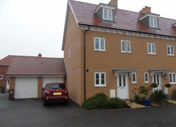 Thumbnail 4 bed end terrace house for sale in Kensington Way, Polegate