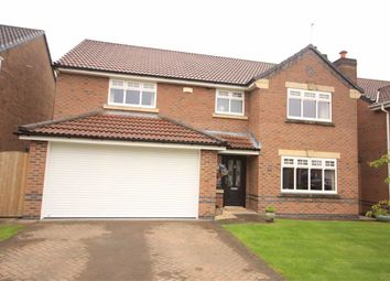 Thumbnail 4 bed detached house for sale in Castle Hey Close, Bury, Lancashire