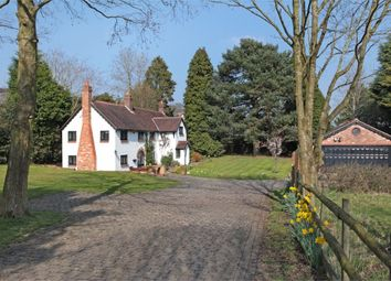 Thumbnail 3 bed detached house for sale in Knutsford Road, Alderley Edge