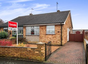 Thumbnail 2 bed semi-detached bungalow for sale in Denton Road, Stanground, Peterborough