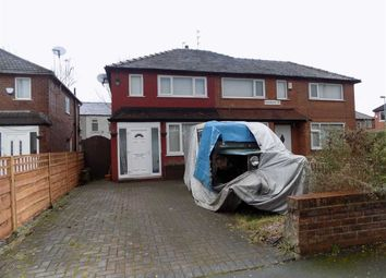 Thumbnail 2 bed semi-detached house for sale in Franklyn Road, Abbey Hey, Manchester