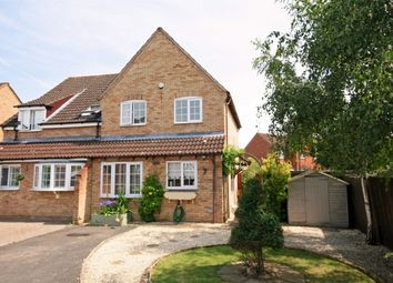 Thumbnail 3 bed semi-detached house to rent in The Causeway, Quedgeley, Gloucester
