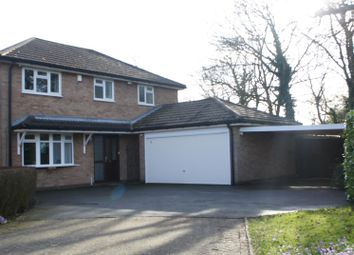 Thumbnail 4 bed detached house for sale in Greys Drive, Groby, Leicester