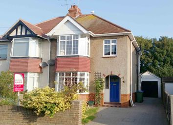 Thumbnail 3 bed semi-detached house to rent in Phrosso Road, Worthing
