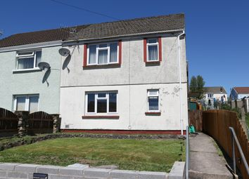 Thumbnail 3 bed semi-detached house for sale in Crabtree Walk, Trefechan, Merthyr Tydfil