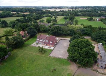 Thumbnail 5 bed equestrian property for sale in High Elms Lane, Benington, Herts