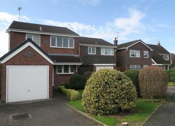 Thumbnail 3 bed detached house for sale in Wedgwood Road, Cheadle, Stoke-On-Trent