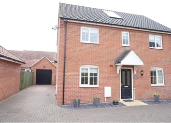 Thumbnail 4 bedroom detached house for sale in Robin Avenue, Harleston