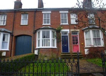 Thumbnail 3 bedroom terraced house to rent in York Road, Bury St. Edmunds
