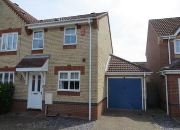 Thumbnail 2 bed semi-detached house to rent in Lumley Close, Ely
