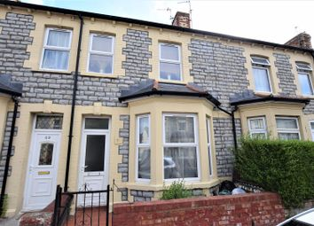 Thumbnail 2 bedroom terraced house for sale in Castleland Street, Barry
