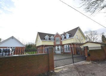 Thumbnail 4 bedroom detached house for sale in Motts Green, Bishop`S Stortford
