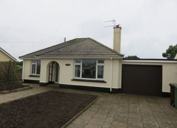 Thumbnail 2 bed detached bungalow for sale in Newlyn Road, St. Buryan, Penzance