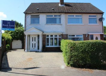 Thumbnail 3 bed semi-detached house for sale in Ballyregan Drive, Dundonald, Belfast