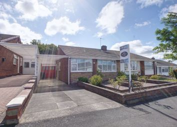 Thumbnail 2 bed semi-detached bungalow for sale in Eden Close, Chapel House, Newcastle Upon Tyne