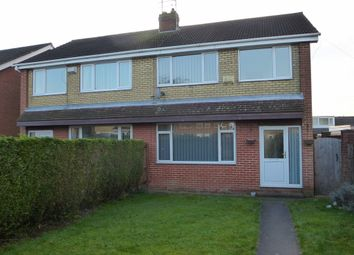 Thumbnail 3 bedroom end terrace house for sale in Jendale, Sutton-On-Hull, Hull
