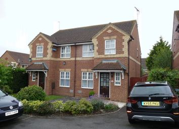 Thumbnail 3 bed semi-detached house for sale in Kirkstall Place, Oldbrook, Milton Keynes