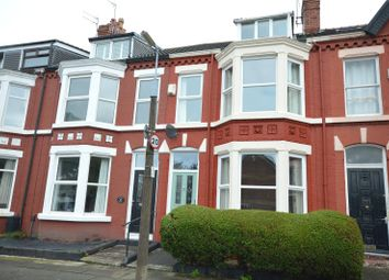 Thumbnail 4 bed terraced house for sale in Annesley Road, Aigburth, Liverpool
