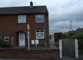 Thumbnail 2 bed semi-detached house to rent in Flamstead Avenue, Loscoe, Heanor, Derbyshire