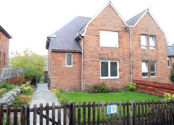 Thumbnail 3 bedroom semi-detached house for sale in Forest Gardens, Galashiels