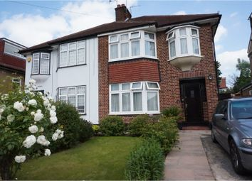 Thumbnail 3 bed semi-detached house to rent in Alders Road, Edgware