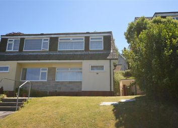 Thumbnail 3 bed semi-detached house for sale in Grantham Close, Plymouth, Devon