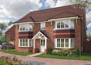 "Thumbnail 5 bedroom detached house for sale in ""The Ascot"" at Farrier Gardens, Eccleshall, Stafford"