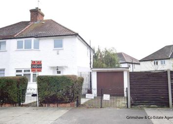 Thumbnail 3 bed semi-detached house for sale in Highfield Road, West Acton, London
