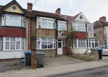 Thumbnail 3 bed terraced house to rent in Elms Park Avenue, Sudbury Hill, Harrow
