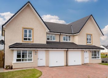 "Thumbnail 3 bedroom semi-detached house for sale in ""Airth"" at Bothwell Road, Uddingston, Glasgow"