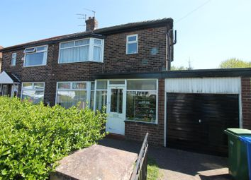 Thumbnail 3 bedroom semi-detached house to rent in Newcroft Road, Urmston, Manchester