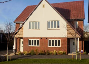 Thumbnail 3 bed semi-detached house for sale in Buckingham Close, Exmouth