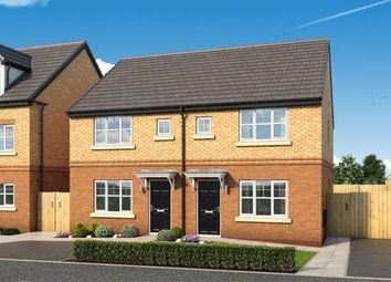 "Thumbnail 3 bed property for sale in ""The Laskill At The Woodlands "" at Newbury Road, Skelmersdale"