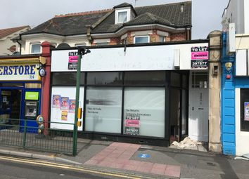 Retail premises to let in Christchurch Road, Bournemouth BH7