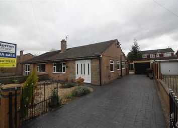 Thumbnail 3 bed semi-detached bungalow for sale in Oak Avenue, Abram, Wigan