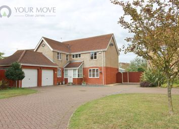 Thumbnail 4 bedroom detached house for sale in Cedar Drive, Worlingham, Beccles