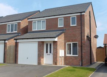 Thumbnail 3 bed detached house for sale in Alnwick Way, Amble, Morpeth