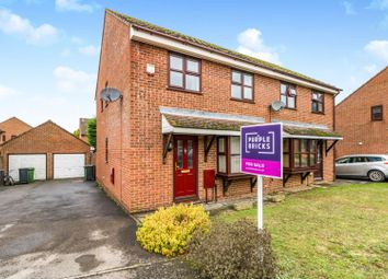 Thumbnail 3 bed semi-detached house for sale in Saddlers Close, Maidstone